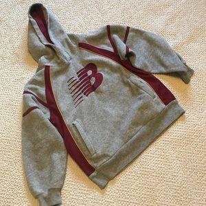 2/20 New Balance NB boy' sweater, size 10/12